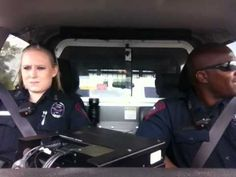 """Watch These Police Officers Lip-Sync Katy Perry's """"Dark Horse"""" In Their Patrol Car"""