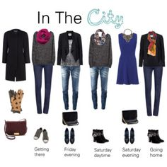 Cold City Break Capsule Wardrobe