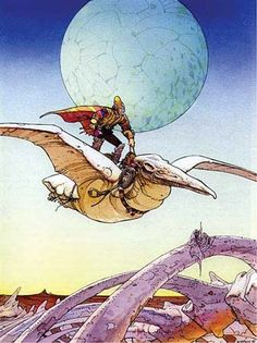 One of my inspirations when I grew up, Jean Giraud aka Moebius or Gir. Rest in Peace.