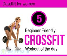 5 Beginner Friendly #CrossFit Workout of the day.