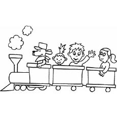 Train Coloring Pages from Transportation Coloring Pages category. Find out more nice pictures to color for your child Train Coloring Pages, Coloring Pages For Boys, Free Printable Coloring Pages, Free Coloring Pages, Coloring Sheets, Coloring Books, Colouring, Preschool Transportation Crafts, Transportation Unit