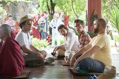 Bradley Cooper, Zach Galifianakis, Todd Phillips, and Ed Helms in The Hangover Part II Ed Helms, Zach Galifianakis, Bradley Cooper, Wrestling, Couple Photos, Pictures, 2016 Movies, Lucha Libre, Couple Pics