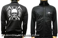 Jaket Crows Zero - Busoh Sensen A1 *Material : poly adidas best quality
