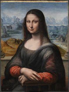 """""""La Gioconda o Mona Lisa"""", Taller de Leonardo da Vinci, 1503-1516"""