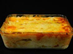 Receta   Lasaña de bacalao con tomate - canalcocina.es