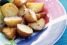 Kijk wat een lekker recept ik heb gevonden op Allerhande! Chili-aardappeltjes