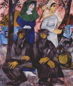 Sabbath by Natalia Goncharova #cubism
