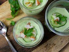 Cucumber Wasabi Gazpacho