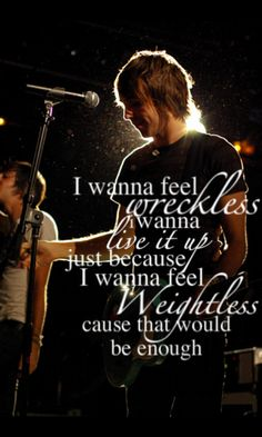 """Weightless"" All Time Low; these boys are amazing. <3"
