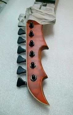 Skervesen chiRoptera headstock - how could you ever ignore this wild weapon?