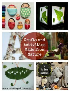 Nature Crafts and Activities