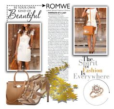"""""""ROMWE - 1"""" by elmat ❤ liked on Polyvore featuring Bloomingdale's"""