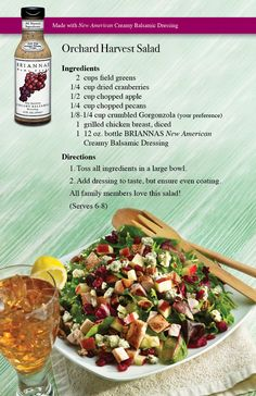 Orchard Harvest Salad, maybe a different dressing though