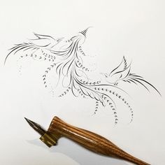 Flourish Calligraphy, Copperplate Calligraphy, Calligraphy Drawing, Calligraphy Envelope, Envelope Art, Calligraphy Alphabet, Penmanship, Islamic Calligraphy, Caligraphy