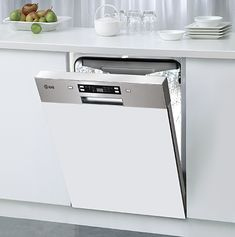 Ilve IVSIX6 Semi Integrated Dishwasher