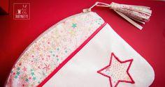 Pochette Candy Multi-poches - tutoriel gratuit -accessoires- trousse- liberty