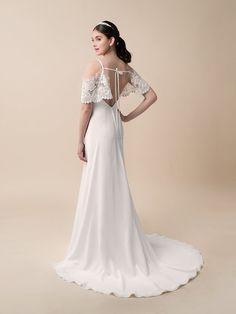 Moonlight Tango T783 comfortable bohemian lace bridal gowns for the casual bride