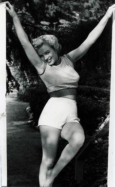 Marilyn Monroe. Andre de Dienes. 1952.