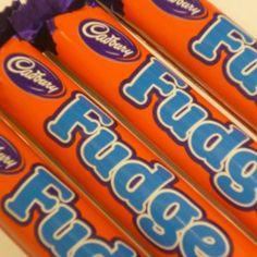 Fudge - Soft fudge wrapped in delicious gorgeous Cadbury Dairy Milk chocolate.