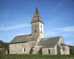 1,000 Year-Old Church, near Dijon, France