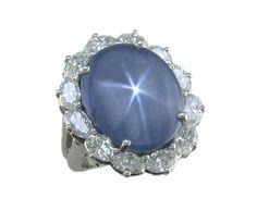 Oscar Heyman star sapphire ring