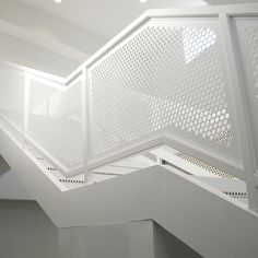 Escaleras Cerramiento Chapa Metálica Perforada