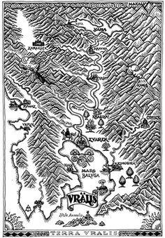Medieval Woodcut Map of Uralia