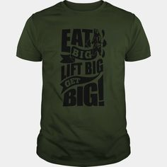 This girl love Eat Big Lift Big Get Big Gym Motivation Fitness