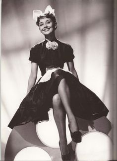 """Audrey Hepburn Laughter in Paradise 