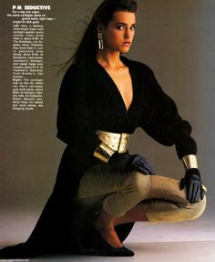 Yasmin Le Bon - Elle (US) - 1985