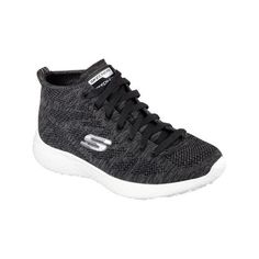 9753f9cbfc Women s Skechers Burst Divergent High Top - Black White Athletic ( 77) ❤  liked