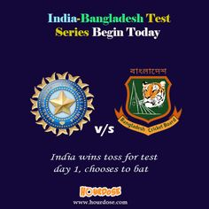 India-Bangladesh Test Series Begin Today