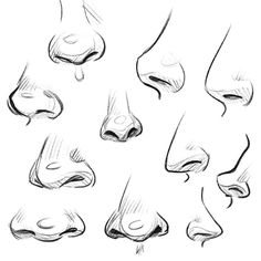 Last one of the July challenge! Body Parts day 31 - nose. New month, new challenge!