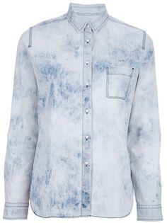 LACOSTE LIVE - bleached shirt 6