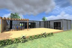 Panama Shipping Container home model, Cubular Container Buildings NZ
