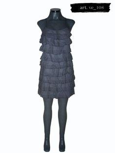 Vestido De Rayas Blancas Y Azules Zara - $ 199.00