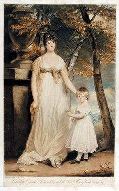 1805 Charlotte, Countess of Cholmondeley by Charles Turner
