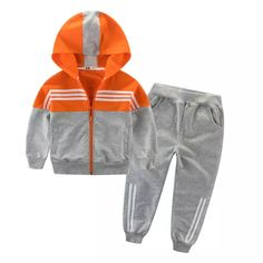 Children Clothing Sports Suit For Boys And Girls Hooded Outwears Long Sleeve Boys Clothing Set Casual Tracksuit Outfits Niños, Baby Boy Outfits, Sport Outfits, Kids Outfits, Baby Boy Fashion, Kids Fashion, Yoga Fitness, Girls Tracksuit, Tracksuit Set
