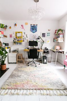 The Colourful Office