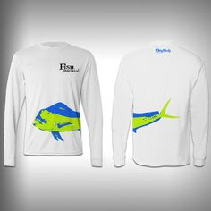 Fish Don't Bitch Mahi - Performance Shirt - Fishing Shirt - SurfmonkeyGear  - 1