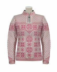 Scandinavian Sweaters  Peace Women's Sweater - Off White/Allium