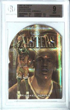 Lou Costabile's Top 10 Michael Jordan Cards - Michael Jordan Cards Michael Jordan Autograph, Basketball Cards, Chicago Bulls, The Rock, South America, Jordans, Things To Come, Ebay, Top
