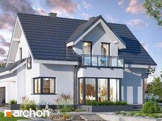 Dom w tamaryszkach 2 Dream House Exterior, Home Fashion, Exterior Design, House Plans, House Design, House Styles, Outdoor Decor, Home Decor, Houses