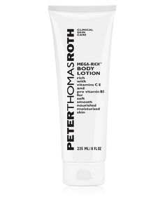 Peter Thomas Roth Clinical Mega Rich Body Lotion- best body lotion ever