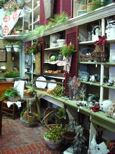 shop display ~ The Feathered Nest ~