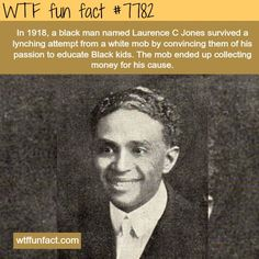 laurence c jones wtf fun facts Wtf Fun Facts, True Facts, Funny Facts, Crazy Facts, Random Facts, Random Stuff, The More You Know, Did You Know, Interesting History