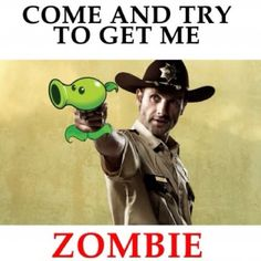 Double reference win plants vs. zombies walking dead