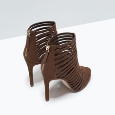 Image 3 of MULTI-STRAP HIGH HEEL SANDAL from Zara