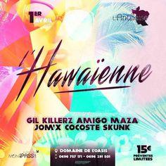 L'Hawaienne au Domaine de l'Oasis Vous aussi intégrez vos événements dans l'Agenda des Sorties de www.bellemartinique.com C'est GRATUIT !  #martinique #Antilles #domtom #outremer #concert #agenda #sortie #soiree