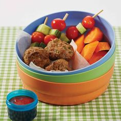 Mini meat balls - Cooking From The Heart Sweet Chilli Sauce, Fussy Eaters, Hidden Veggies, Baby Potatoes, Salad Ingredients, Dinner Rolls, Chutney, Family Meals, Dog Food Recipes